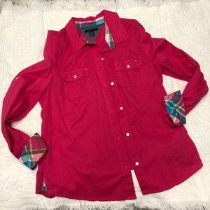 Pink Large Tommy Hilfiger Shirt